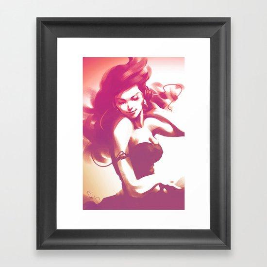 Pepper Dance Framed Art Print