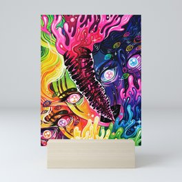 Layers Mini Art Print