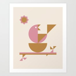 Mamma Bird Art Print
