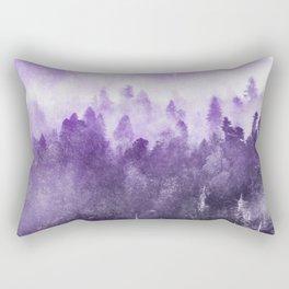 Ultra Violet Adventure Forest Rectangular Pillow