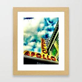 New York by iPhone 4 Framed Art Print
