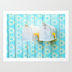 LA mailboxes 3586 Art Print