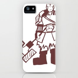 'I Would like to Rage!' iPhone Case
