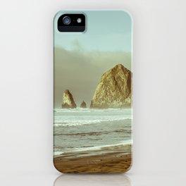 Oregon Coast, A Cannon Beach Dream iPhone Case