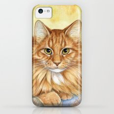 Ginger Cats A085 iPhone 5c Slim Case