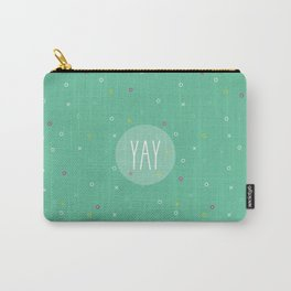 YAY Noughts + Crosses Carry-All Pouch