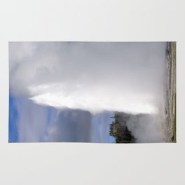 Old Faithful - Yellowstone National Park Rug