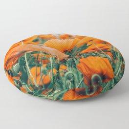 Field of Poppies Floor Pillow