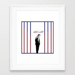 Jed Bartlet  Framed Art Print