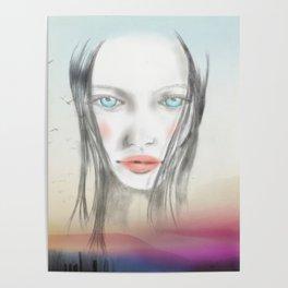 Nina floating Poster
