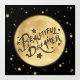 Beautiful Dreamer Canvas Print