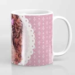 Cute Poodle Dog Coffee Mug
