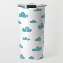 cloud pattern Travel Mug