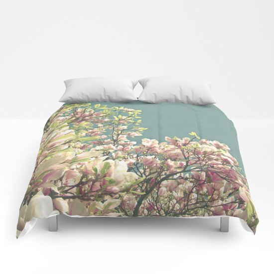 Magnolia in Bloom Comforters