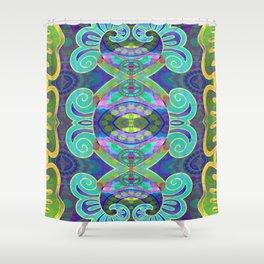 Boujee Boho Cooling Medallion Shower Curtain
