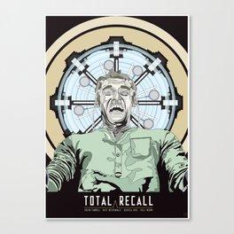 Total Recall - Arnold Schwarzenegger Flavour Canvas Print