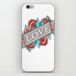 Love & Roses iPhone Skin