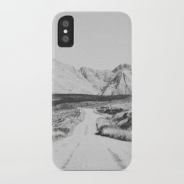 ON THE ROAD XXI / Scotland iPhone Case