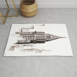 Chrysler Building, NYC Rug