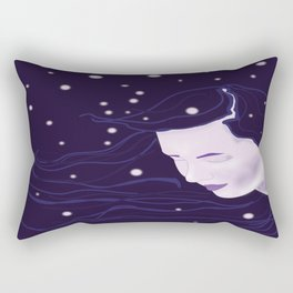 Goddess of Night Rectangular Pillow