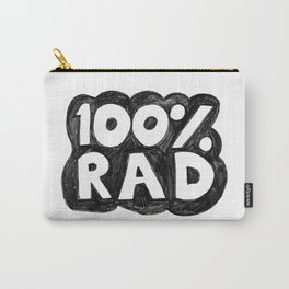 100 % RAD - Bubble Carry-All Pouch