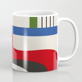 TAKE ME OUT (abstract geometric) Coffee Mug