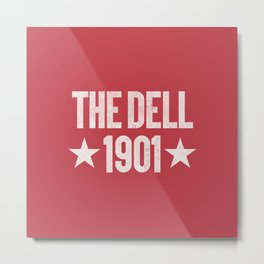 The Dell Football Ground Metal Print