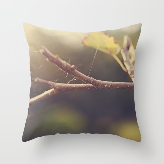 Apple Tree in the Fall Throw Pillow
