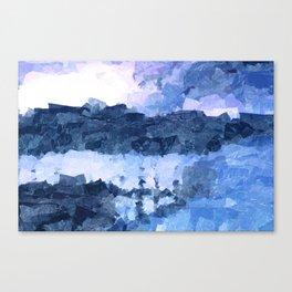 Tense Woeful Canvas Print