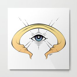 The third eye Metal Print