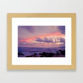 Ocean in my dreams 1 Framed Art Print