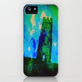 Mystical Glastonbury iPhone Case