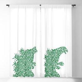 Japanese Monster Blackout Curtain