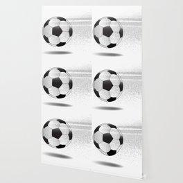 Moving Football Wallpaper