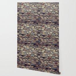 Brick Wall Pattern Wallpaper