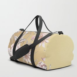 Chinoiserie Gold Duffle Bag