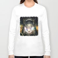 astronaut Long Sleeve T-shirts featuring Astronaut by J ō v