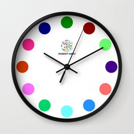 Robert Hirst Spot Clock 3 Wall Clock