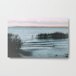 A Peaceful Moment at The Water's Edge Metal Print