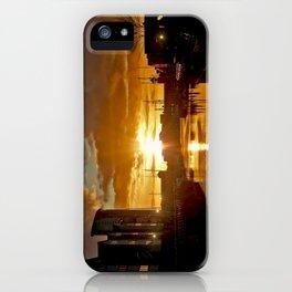 Sunset in Swansea iPhone Case