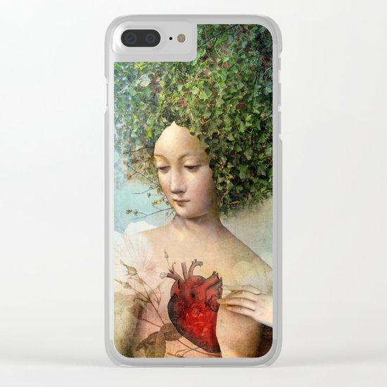 The Day I lost my Heart Clear iPhone Case