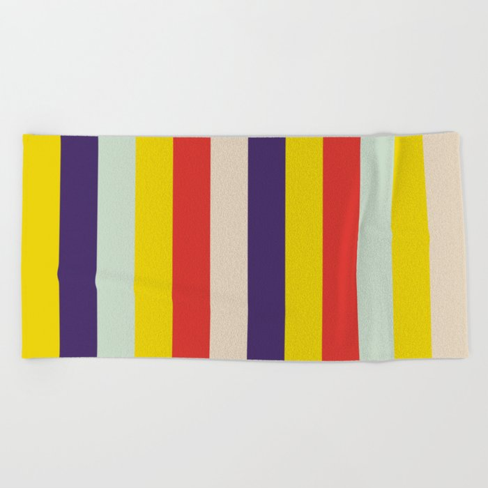 Abstract Pattern No.2 Beach Towel