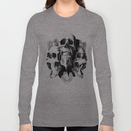 ominous dark without type Long Sleeve T-shirt