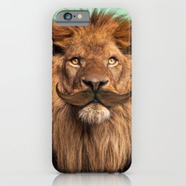 BEARDED LION iPhone Case