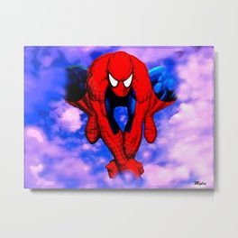From Spider To Man To Spider Metal Print