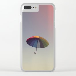 Come, Fly With Me Clear iPhone Case