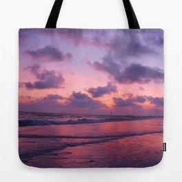 Sunset Pink glow Tote Bag