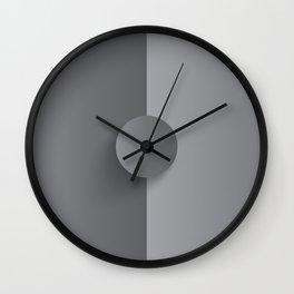 Gunsmoke Osio Grey Wall Clock