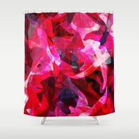 orchid Shower Curtains featuring Orchid by Allison Holdridge