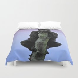 Lope The Gorilla At Sunset Duvet Cover